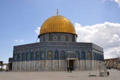 Mesquita do al-Aqsa na cidade velha do Jerusalém, Israel Fotografia de Stock