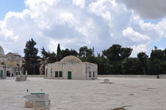 Mesquita do al-Aqsa na cidade velha do Jerusalém, Israel Imagens de Stock Royalty Free