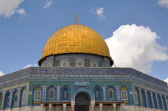 Mesquita do al-Aqsa na cidade velha do Jerusalém, Israel Fotos de Stock Royalty Free
