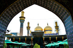 A mesquita do al-K?dhimiya imagens de stock