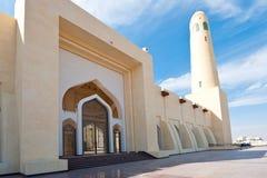 Mesquita do estado de Qatar imagem de stock