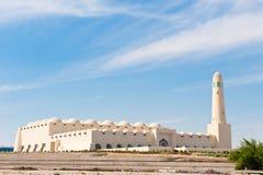 Mesquita do estado de Qatar fotos de stock