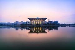 Mesquita do ferro, Putrajaya Fotografia de Stock Royalty Free