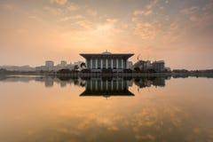 Mesquita do ferro, Putrajaya Imagem de Stock