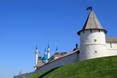 Mesquita do Kremlin e do Kul Sharif de Kazan Imagens de Stock