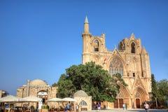 Mesquita do Pasha de Lala Mustafa em Famagusta Fotos de Stock Royalty Free