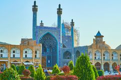 Mesquita do ` s da imã em Isfahan, Irã Fotografia de Stock