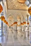 Mesquita do Sheikh Zayed Escaninho Sultão Al Nahyan Fotografia de Stock