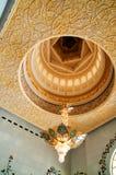 Mesquita do Sheikh Zayed para dentro Foto de Stock
