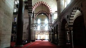 mesquita do suleyman imagens de stock