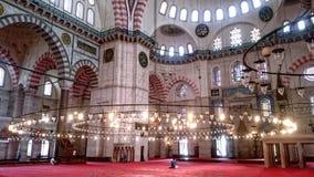 mesquita do suleyman fotos de stock
