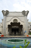 Mesquita a do território federal K um Masjid Wilayah Persekutuan Foto de Stock