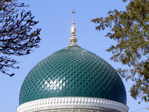 Mesquita dos muçulmanos da abóbada Foto de Stock