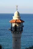 Mesquita e o mar Foto de Stock