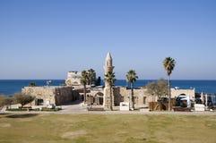 Mesquita em Caesarea antigo Imagens de Stock Royalty Free
