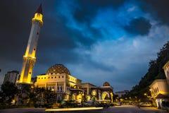 Mesquita em Malásia foto de stock royalty free