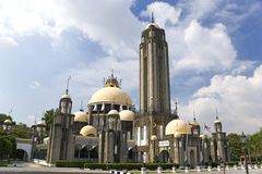 Mesquita em Malaysia Foto de Stock