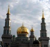 Mesquita em Moscou imagem de stock