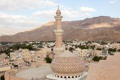 Mesquita em Nizwa, Omã foto de stock royalty free