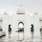 Mesquita grande Abu Dhabi Fotos de Stock