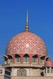 Mesquita grande de Putrajaya Imagem de Stock