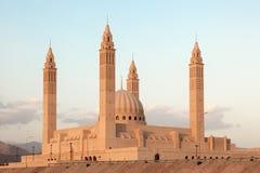Mesquita grande em Nizwa, Omã fotografia de stock
