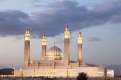 Mesquita grande em Nizwa, Omã fotos de stock royalty free