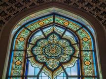 Mesquita grande - Muscat - Omã Fotografia de Stock Royalty Free