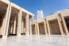 Mesquita grande na Cidade do Kuwait Fotos de Stock Royalty Free
