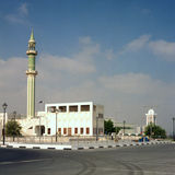 Mesquita grande, Qatar Fotografia de Stock Royalty Free