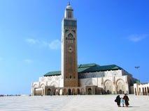 Mesquita Hassan II Imagens de Stock Royalty Free