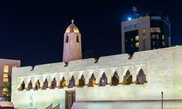 Mesquita histórica em Doha, Catar Imagens de Stock