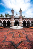 Mesquita histórica, Masjid Jamek em Kuala Lumpur, Malásia Fotos de Stock