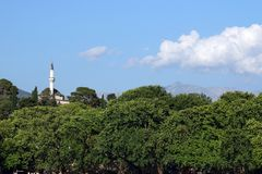 Mesquita Ioannina Grécia de Aslan Pasha Imagem de Stock