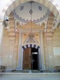 A mesquita islâmica é o coração de Chechnya cidade Grozniy imagens de stock