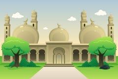 Mesquita islâmica durante o dia Imagem de Stock Royalty Free