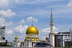 Mesquita islâmica, Klang, Malaysia foto de stock