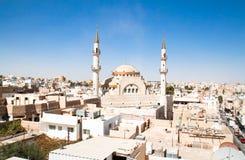 Mesquita islâmica, Madaba, Jordão fotos de stock