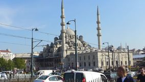 Mesquita Istambul de Pasa da haste do ¼ de RÃ vídeos de arquivo