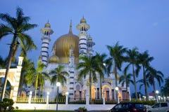 Mesquita kangsar de Kuala foto de stock
