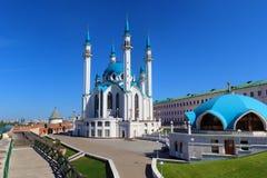 Mesquita Kul Sharif em Kazan Kremlin Imagens de Stock Royalty Free
