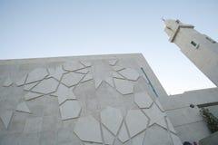 Mesquita moderna que buidling fotografia de stock