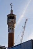 Mesquita muçulmana imagens de stock