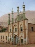 Mesquita na vila de Mazar no vale China de Tuyu Fotografia de Stock Royalty Free
