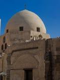 Mesquita egípcia com abóbada fotografia de stock