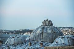 A mesquita nova é Istambul imagem de stock