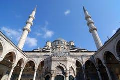 Mesquita nova em Istambul Turquia fotos de stock