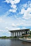 Mesquita Putrajaya de Mizan da sultão Imagem de Stock