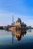 Mesquita Putrajaya de Putra Foto de Stock