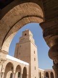 Mesquita santamente de Kairouan Foto de Stock